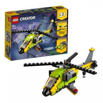 LEGO CREATOR AVENTURA EN HELICOPTERO 31092