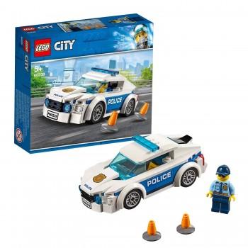 LEGO CITY COCHE PATRULLA DE POLICIA 60239