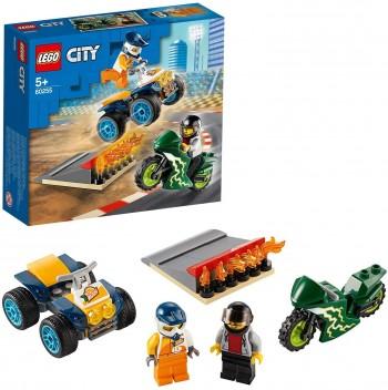 LEGO CITY EQUIPO DE ESPECIALISTAS 60255