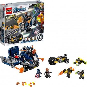 LEGO AVENGER DERRIBO DEL CAMION 76143