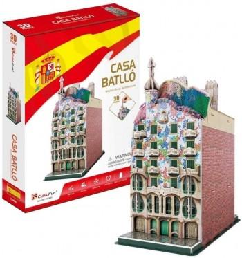 PUZZLE 3D CASA BATLLO 68 PZAS JUPE