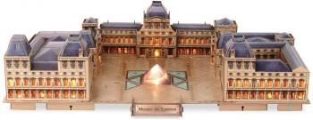 PUZZLE 3D LED THE LOUVRE 137 PZAS JUPE