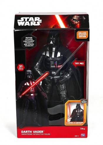 FIGURA STAR WARS 45CM DARTH VADER LUJO INTERACTIVA GIOCHI