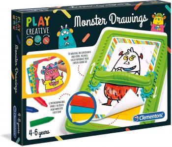 PLAY CREATIVE CREACIONES TERRORIFICAS CLEMENTONI 15276