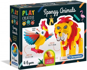 PLAY CREATIVE CREA ANIMALES CLEMENTONI 15284