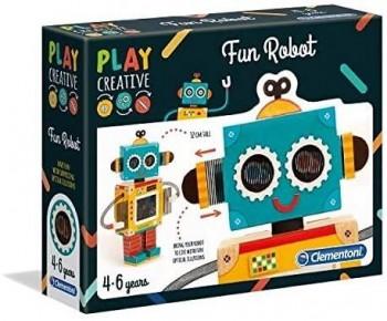 PLAY CREATIVE CREA TU ROBOT CLEMENTONI 15285