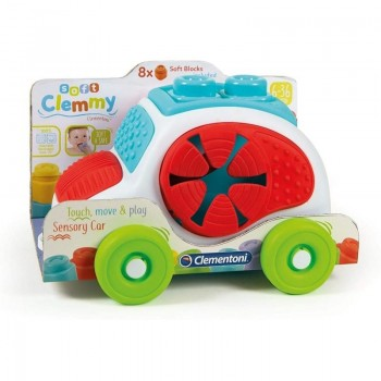 CLEMMY BABY VEHICULO TEXTURAS CLEMENTONI 17315