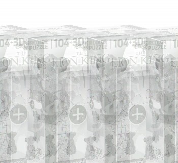 PUZZLE REY LEON 104 PZAS + PUZZLE 3D CLEMENTONI 20158