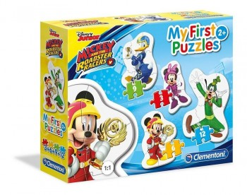 PUZZLE PROGRESION MICKEY 3X6X9X12 CLEMENTONI