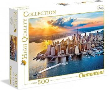 PUZZLE 500 PZAS NEW YORK CLEMENTONI