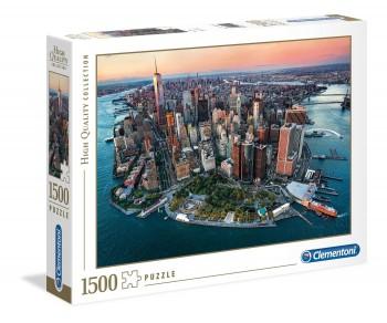 PUZZLE NEW YORK 1500 PZAS CLEMENTONI 31810