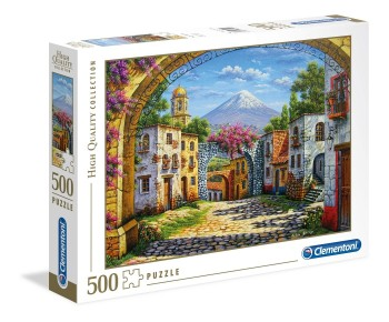 PUZZLE VOLCANO 500 PZAS CLEMENTONI 35025