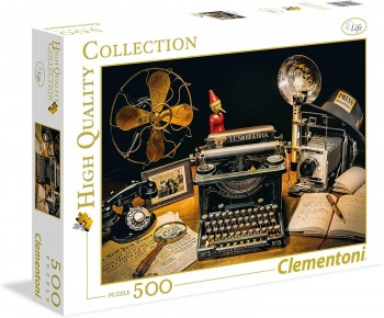PUZZLE 500 THE TYPEWRITER CLEMENTONI