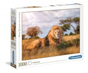 PUZZLE 1000 PZAS REY LEON CLEMENTONI 39479