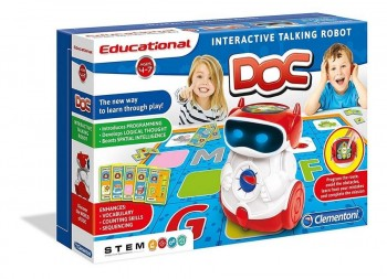 DOC ROBOT INTERACTIVO CON VOZ CLEMENTONI