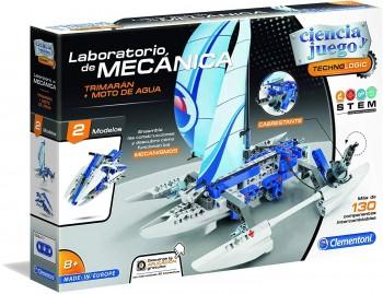 LABORATORIO MECANICA CONSTRUCCION TRIMARAN + MOTO AGUA CLEMENTONI REF-55276