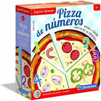 APRENDE PIZZA DE NUMEROS CLEMENTONI 55336