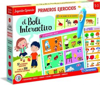 BOLI INTERACTIVO PRIMEROS EJERCICIOS  CLEMENTONI 55318