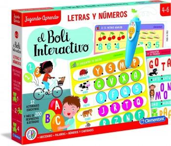 BOLI INTERACTIVO LETRAS Y NUMEROS CLEMENTONI 55319