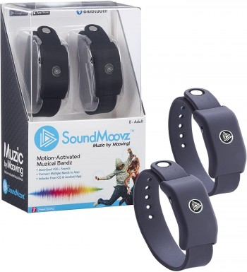 PULSERA SOUND MOOVZ DANCING COLOR AZUL
