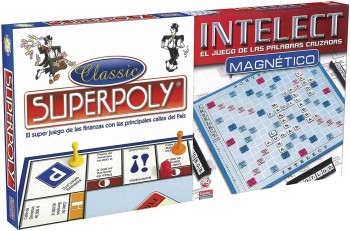 JUEGO SUPERPOLY + INTELECT FALOMIR 58511699
