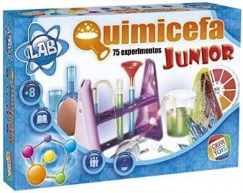 QUIMICEFA JUNIOR 75 EXPERIMENTOS CEFA REF-21755