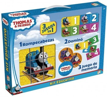KIT EDUCATIVO THOMAS 3X1 CEFA REF-88242