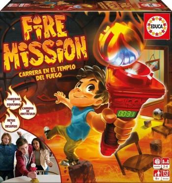 JUEGO FIRE MISSION EDUCA