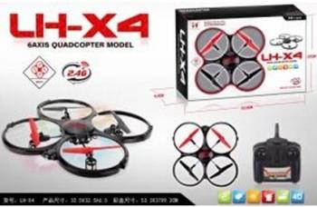 QUADCOPTER DRONE UFO PRO R/C 3