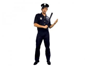 DISFRAZ POLICIA CHICO AD BT