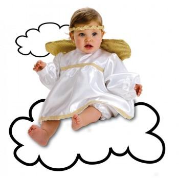 DISFRAZ ANGEL BEBE HASTA MESES LLOPIS REF-2103