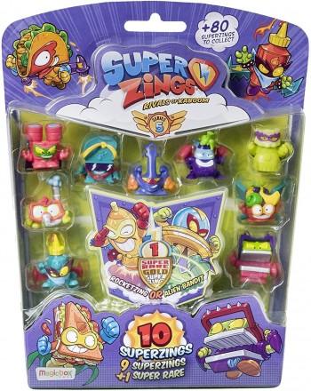 SUPER ZINGS SERIE 5 BLISTER 10 FIGURAS SAE