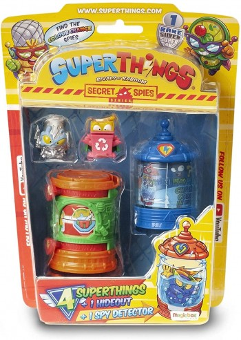 SUPER THINGS BLISTER HIDEOUT SERIE 1