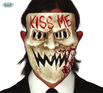 MASCARA TERROR KISS GUIRCA 2268