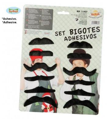 SET BIGOTES SURTIDOS GUIRCA 11937