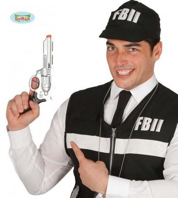 PISTOLA POLICIA FBI 28CM GUIRCA 18520