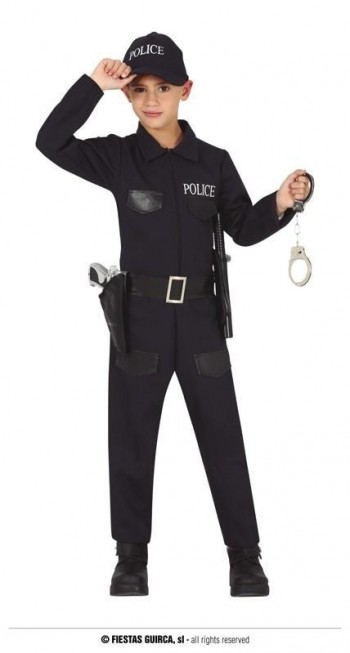 Z ONLINE DISFRAZ POLICIA INFANTIL GUIRCA 77201