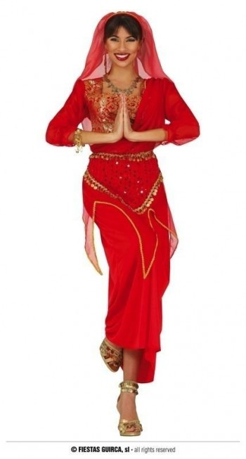 Z ONLINE DISFRAZ INDIAN WOMAN ADULTA GUIRCA 79146