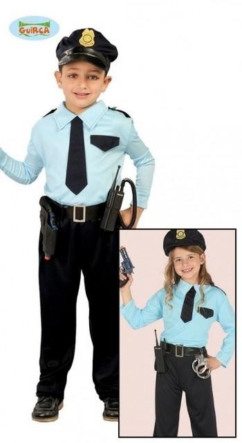 Z ONLINE DISFRAZ POLICIA INFANTIL GUIRCA 82732