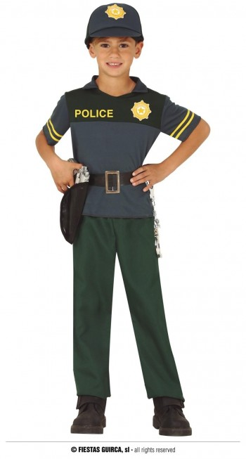 Z ONLINE DISFRAZ POLICIA  INFANTIL GUIRCA 83738