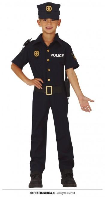 Z ONLINE DISFRAZ POLICIA  INFANTIL GUIRCA 83742