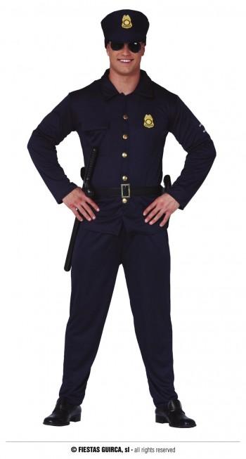 Z ONLINE DISFRAZ POLICIA ADULTO GUIRCA 84643