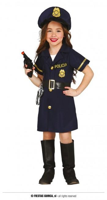 Z ONLINE DISFRAZ POLICE GIRL INFANTIL GUIRCA 85700