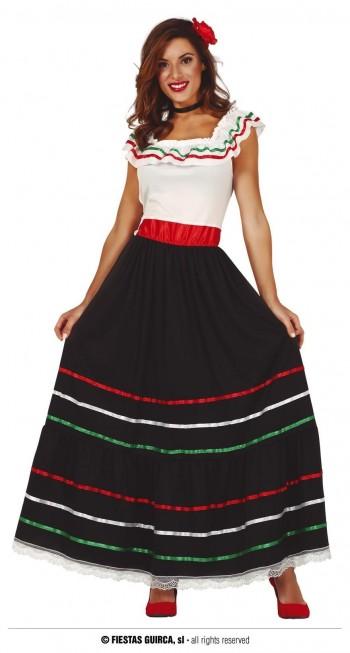 Z ONLINE DISFRAZ MEXICANA ADULTA GUIRCA 86591