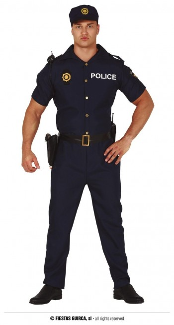 Z ONLINE DISFRAZ POLICIA ADULTO GUIRCA 86611