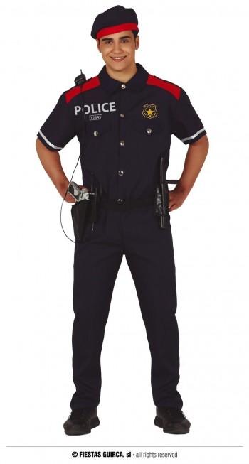 Z ONLINE DISFRAZ POLICIA ADULTO GUIRCA 86647