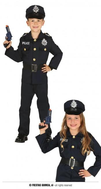 Z ONLINE DISFRAZ POLICIA INFANTIL GUIRCA 87455