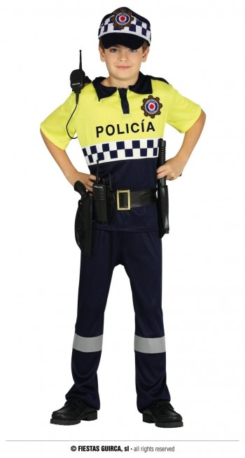 Z ONLINE DISFRAZ POLICIA LOCAL INFANTIL GUIRCA 87507