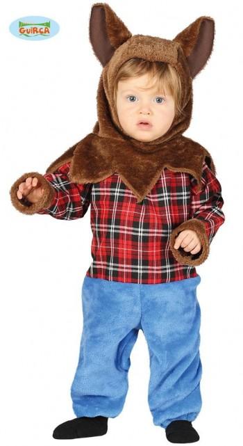 DISFRAZ HOMBRE LOBO BABY INFANTIL GUIRCA REF-87648