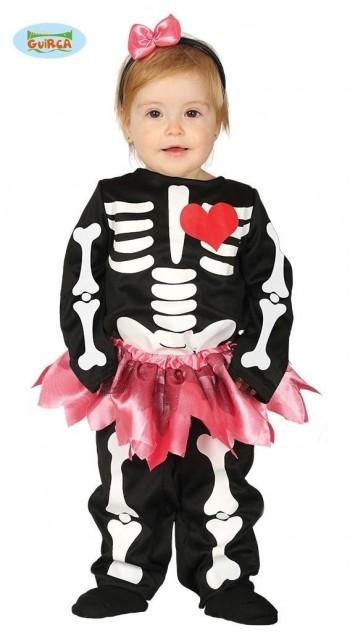 Z ONLINE DISFRAZ BABY SKELETON INFANTIL GUIRCA 87650